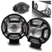 "4.9"" 4x4 Off Road Fog Lights w/ Switch"