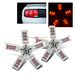 5-Arm Spider 30 SMD 7443/7440 LED Tail Light Bulbs - Red
