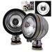 Halo 4x4 Off Road Fog Lights - Chrome w/ Switch