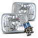 7x6 Headlights - Chrome