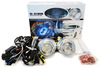 Bi-xenon Projector Lens Retro Fit Kit with CCFL Halo Rings