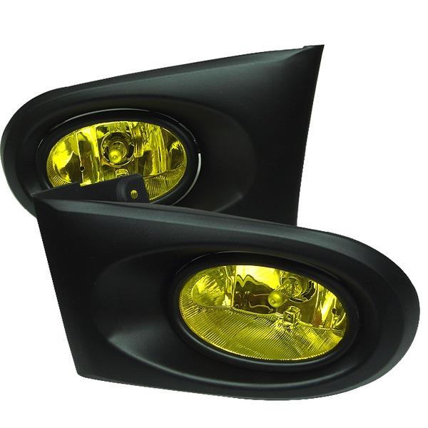 acura rsx 02 04 oem fog lights yellow. Black Bedroom Furniture Sets. Home Design Ideas