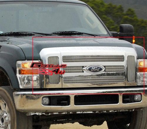 2010 F250 Billet Grille F250 2008-2010 Vertical Billet