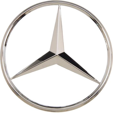 Mercedes star trunk emblem for Mercedes benz star logo