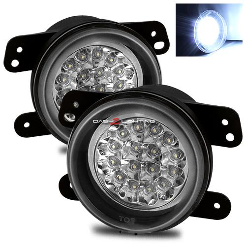 Pt Cruiser Tail Light Wiring Harness : Pt cruiser  hi power led fog lights chrome