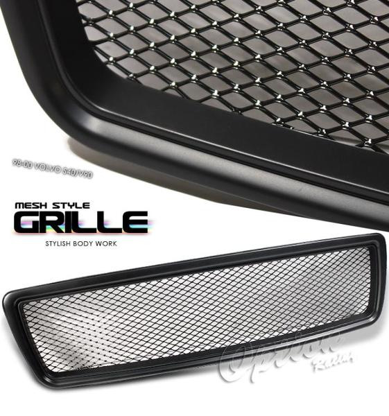 Volvo v70 1997 2000 sport grille black painted mesh style - Grille barbecue 70 x 40 ...